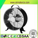 Вентилятор таблицы Antique металла вентилятора часов 8 дюймов электрический миниый