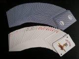 Hülsenpapier-Kasino-Papierspielkarten des Fabrik-Zoll-310gms schwarzes/Schürhaken-Karten