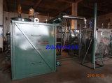 Lage de la capacité du système de distillation des huiles usagées (Changement huile noire d'huile de base)