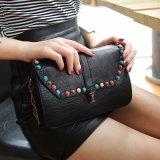 リベットのDecarationの方法ハンドバッグの女性小さい袋デザイナー袋(WDL0460)が付いているPUの革製バッグ