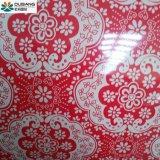 Diseño de patrón PPGI para la construcción materiales de decoración