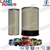 Shacman des pièces du chariot de haute qualité de l'élément de filtre à air pour les Certifications Shacman chariot avec SGS