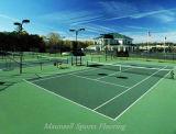 芝生カラーPVCはテニスコートのためのフロアーリングを遊ばす