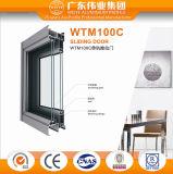 Дверь рельса минимальной цены изготовления Foshan алюминиевая сползая