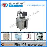 Machine de grande précision d'inscription de laser de fibre pour l'inscription de logo en métal