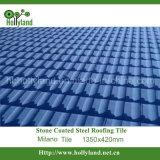 Каменная Coated плитка крыши металла (тип Milano)