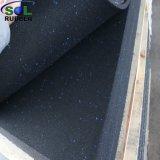 Colorida motas de caucho EPDM de Crossfit alfombras Pisos de gimnasio