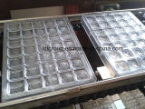 Molde de chocolate de plástico para produção de chocolate