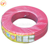 Fio elétrico do PVC do fio de cobre