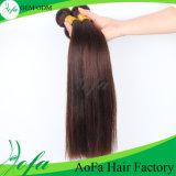 ヘアケア製品のブラウン新しいカラー人間の自然なモンゴルのRemyの毛