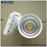 Comercial de alta potencia LED COB Spotlight Luz/pista