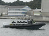 Barco de la costilla de Aqualand 30feet los 9m/patrulla del rescate de Militray/barco de motor (RIB900B)