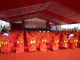 イベントのための大きいアルミニウム明確なスパンの結婚披露宴のテント