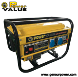 2kw Portable Gasoline Generator con Copper 100% Wire