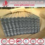 Folha de aço galvanizada ondulada da telhadura do metal