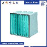 HVACシステムのための拡張ガラス繊維の中型の小型フィルター