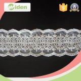 Merletto floreale del ricamo della rete del tessuto del merletto di nuovo arrivo degli accessori