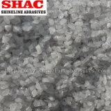 白い溶かされたアルミナの粉および屑