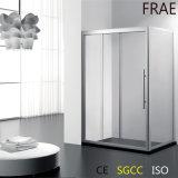 3つの接続の滑走のシャワーのドアスクリーンの緩和されたガラスのシャワーのドアの浴室のシャワー機構
