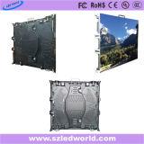 Tela ao ar livre da placa da indicação digital do diodo emissor de luz do arrendamento da cor cheia de P10 RGB grande com o gabinete de fundição de 640X640 milímetro