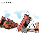 Único cilindro hidráulico ativo de levantamento para o caminhão de descarga