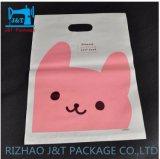 Führendes Fertigung-sauberes PET gestempelschnittene PlastikEinkaufstasche mit Griff-Loch für