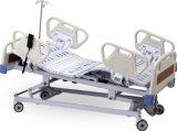 Lit d'hôpital électrique à cinq fonctions