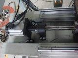 Máquina da limpeza do canto do perfil da porta do indicador do PVC