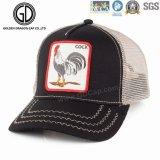 Chapéu na moda do camionista do emblema do bordado do teste padrão de 2016 animais da forma