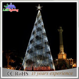 Gigante ao ar livre 8m Commercial LED Spiral Christmas Tree Light