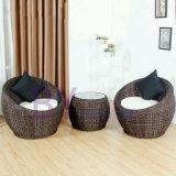 Комплект мебели сада мебели ротанга PE самомоднейший