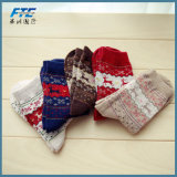 Neue 2017 Winter-warme Weihnachtsgeschenk-Baumwollweihnachtsmann-Socken
