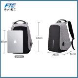 Plusieurs poches sac à dos Sac avec port USB du chargeur