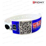 Bracelete RFID descartáveis para Hospital bebê ou Rastreamento de paciente