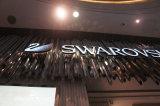 Lettera fabbricata acrilica illuminata LED dimensionale della Manica di affari 3D della memoria del negozio