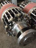 Bâtiment de pneus en caoutchouc du tube de sortie de la machine avec tambour de pneu
