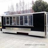 [إيس كرم] مربّع تصميم متحرّك طعام عربة سريعة [سنك فوود] مقطورة