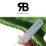 정원 훈장을%s 15mm 양탄자 잔디밭 인공적인 뗏장 합성 잔디