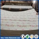 China poliéster revestido de frente de papel comercial de superposición de Tablero contrachapado