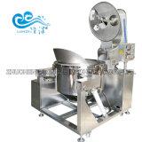 Tamanho grande capacidade de indução eléctrica máquina de pipocas aquecido para o formato esférico Popcorns Cogumelo