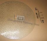 5mm Round Hammer Toughened Glass