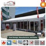 ガラスおよびABS壁システムが付いている美しいイベントの玄関ひさしのテント
