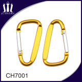 Крюк Carabiner ключевой цепи металла изготовленный на заказ промотирования плоский