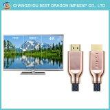 HD 18gbps 1080P 금에 의하여 도금되는 케이블 2.0 HDMI 케이블 2.0 4K 3D