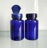 キャンデーのための青いカラーのMD-071 120mlペット丸ビンかカプセルまたは丸薬