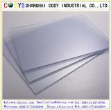 Transparent/Blanc brillant /Matt White feuille PVC rigide