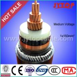 20kv câble, usine moyenne de câble de tension de câble de système mv