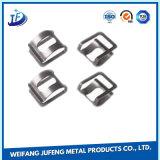 ステンレス鋼のつなぎクリップを押すカスタム工作機械の精密金属