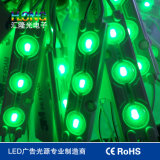 Resistente al agua 0.72W 5050 Módulo LED con lentes