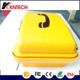 Telefones industriais resistentes Knsp-03 do telefone à prova de intempéries